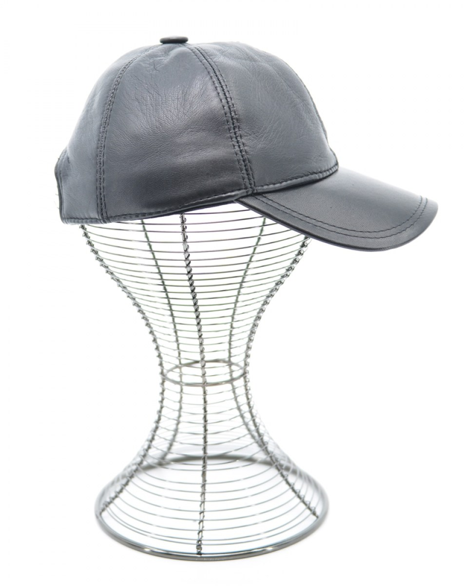 05-HAT-5-LEATHER (BLACK) 2