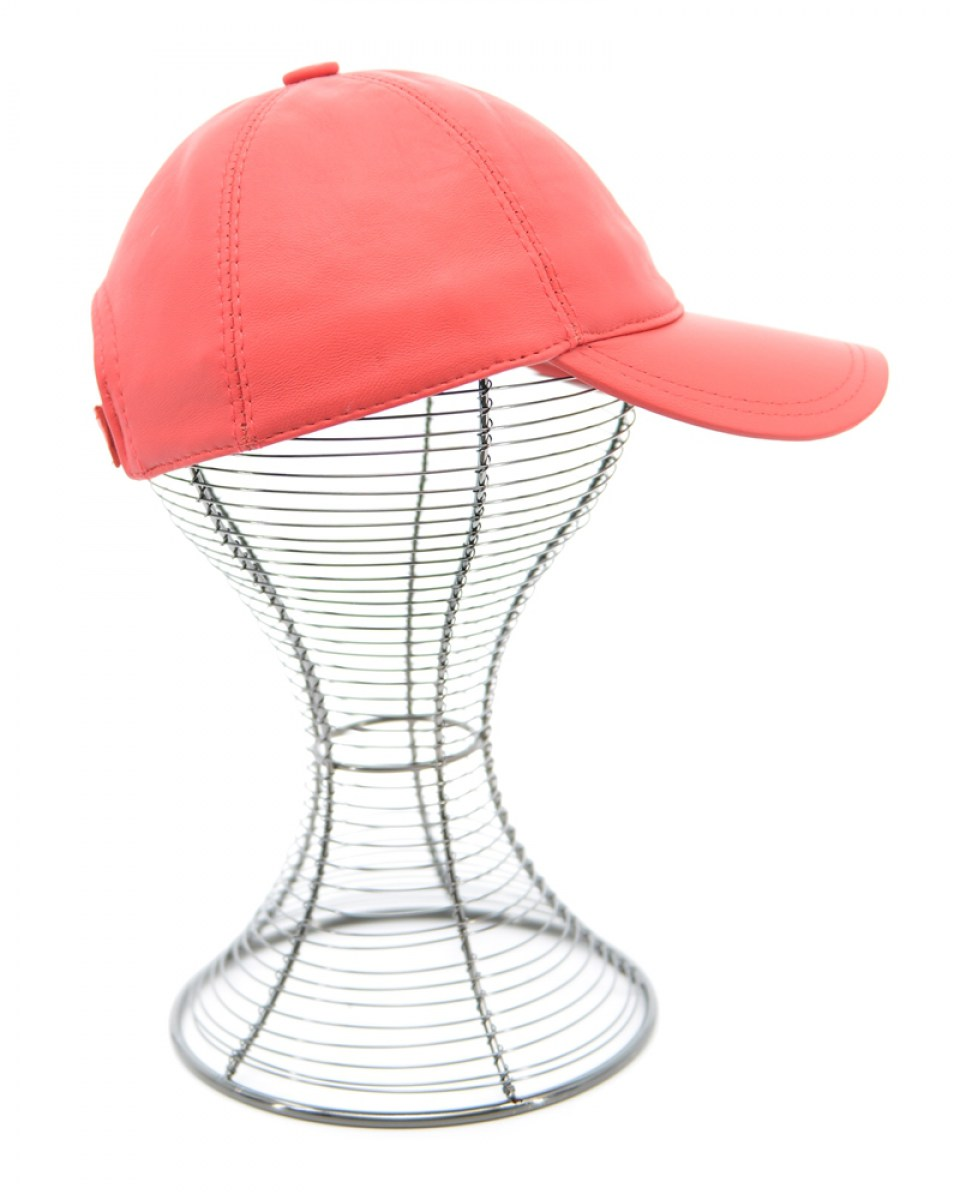 05-HAT-5-LEATHER (RED) 2