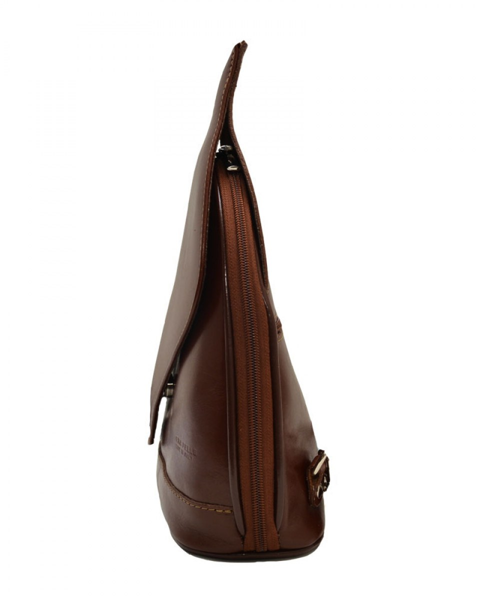 1039 BORSA IN PELLE BROWN 282