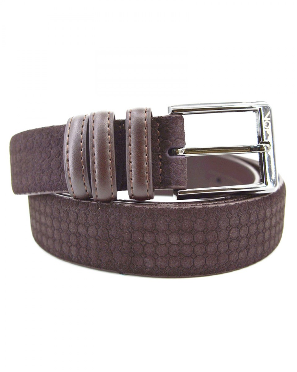 35-BELT-19-8616 (BROWN-BROWN) 47