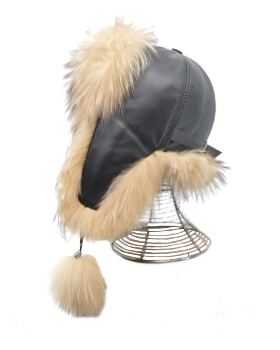 HAT-23 (BLACK-BEIGE) 29