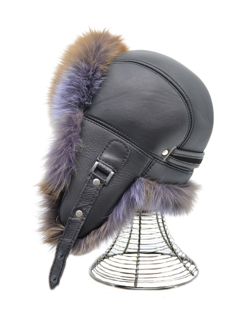 HAT-27 (BLACK-BROWN-PURPLE) 23